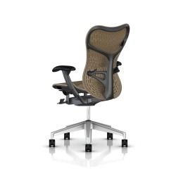 Fauteuil Mirra 2 Herman Miller H-Alloy Graphite / Butterfly Cappuccino