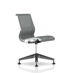 Siege Setu Herman Miller Graphite / Structure Studio White / Lyris Alpine