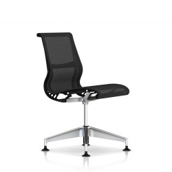 Siege Setu Herman Miller Alu Semi Poli / Structure Graphite / Lyris Graphite