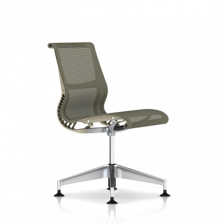 Siege Setu Herman Miller Alu Semi Poli / Structure Chino / Lyris Chino