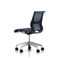 Siege Setu Herman Miller H-Alloy / Structure Graphite / Lyris Berry Blue