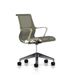 Fauteuil Setu Herman Miller Graphite / Structure Chino / Lyris Chino
