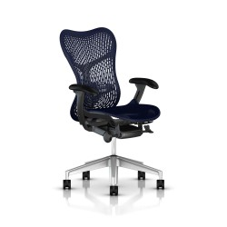 Fauteuil Mirra 2 Herman Miller H-Alloy Graphite / Triflex Twilight