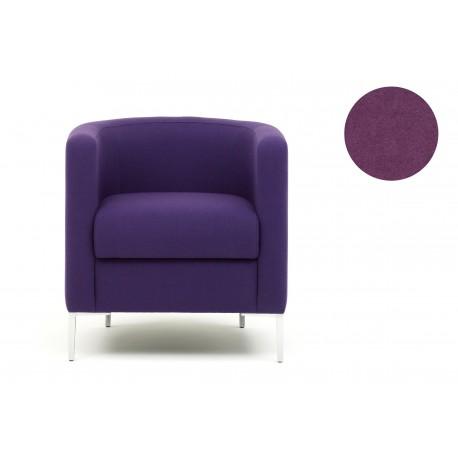 Fauteuil Oasis Tub - Tissu violet