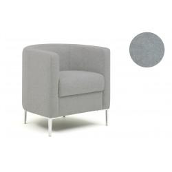 Fauteuil Oasis Tub - Tissu gris clair