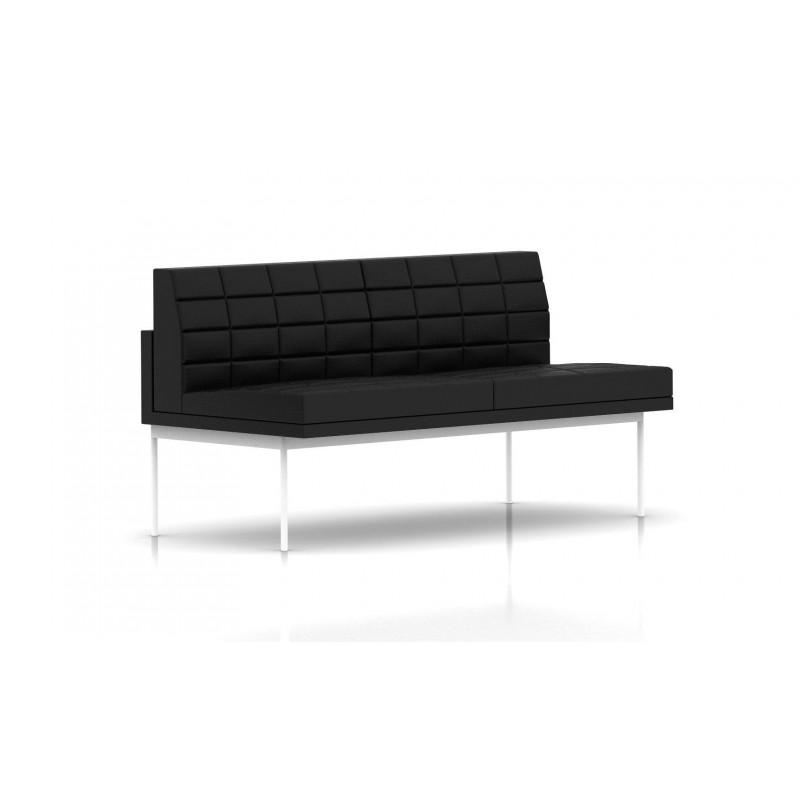 canap tuxedo herman miller 2 places sans accoudoir. Black Bedroom Furniture Sets. Home Design Ideas