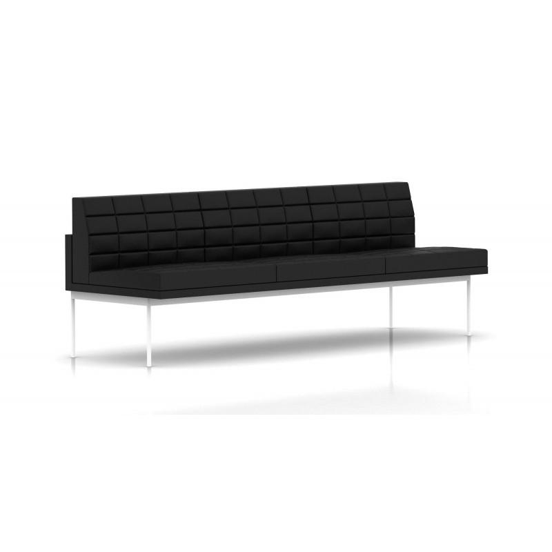 canap tuxedo herman miller 3 places sans accoudoir. Black Bedroom Furniture Sets. Home Design Ideas