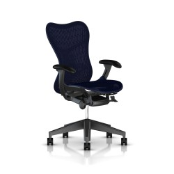 Fauteuil Mirra 2 Herman Miller Graphite / Butterfly Twilight