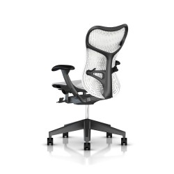Fauteuil Mirra 2 Herman Miller Graphite / Butterfly Studio White