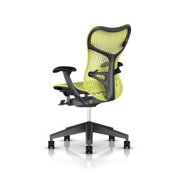 Fauteuil Mirra 2 Herman Miller Graphite / Triflex Lime Green