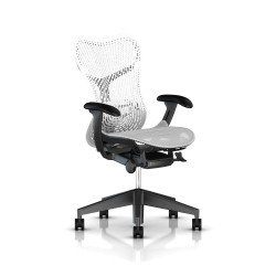 Fauteuil Mirra 2 Herman Miller Graphite / Triflex Studio White