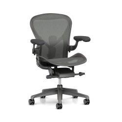 Aeron 2 Remastered Herman Miller - Carbon / Dual Posture Fit