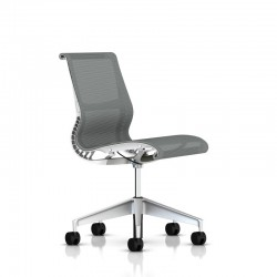 Siege Setu Herman Miller H-Alloy / Structure Studio White / Lyris Alpine