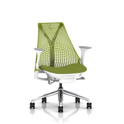 Sayl - Suspension - Aluminium poli / Blanc - Green Apple