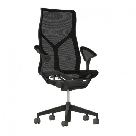 Cosm - Graphite - Accoudoirs Cosm - Herman Miller