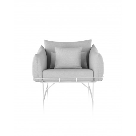 Wireframe - Canapé 1 place - Herman Miller