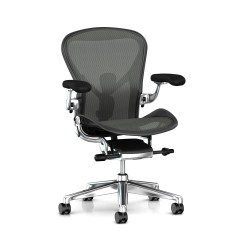 Aeron 2 Remastered Herman Miller Alu Poli / Graphite / Posture Fit