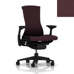 Fauteuil Embody Herman Miller Graphite/Graphite /Wild berry